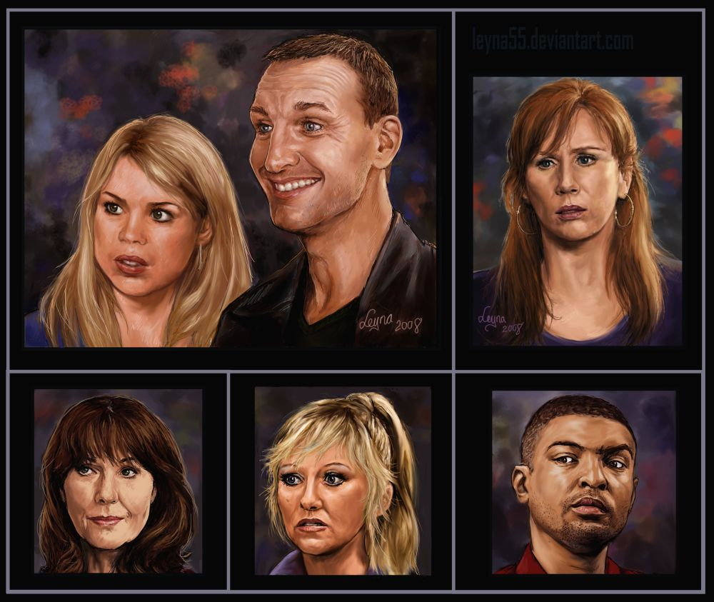 Dr Who Portraits