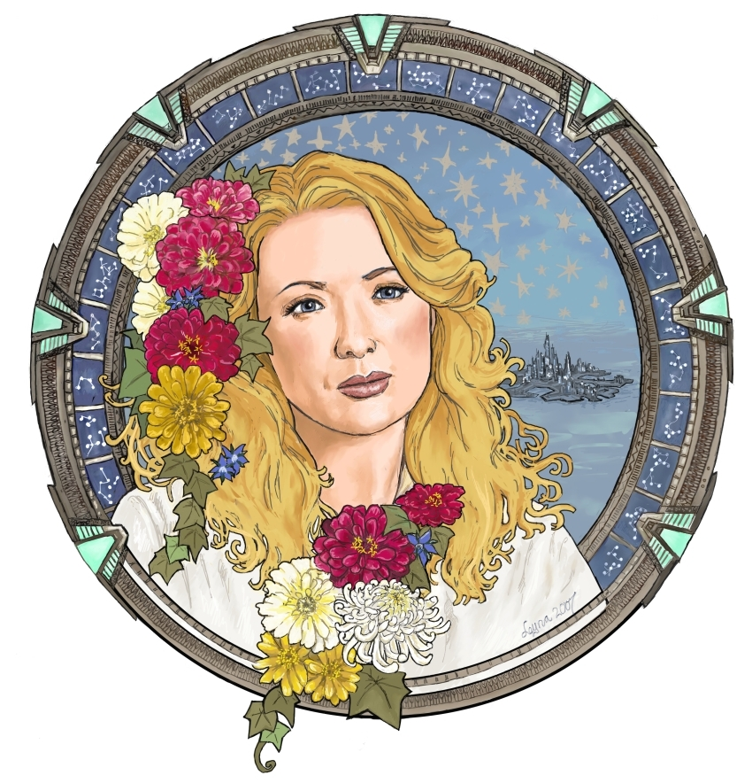 Kate – in the Style of Mucha